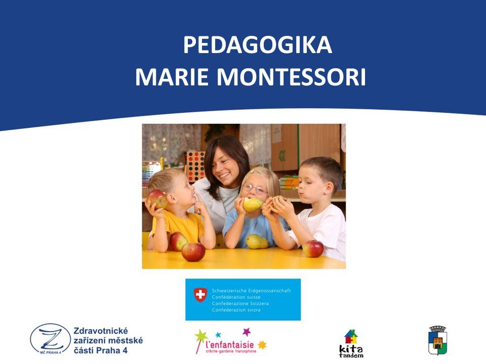 PEDAGOGIKA MARIE MONTESSORI Munari mobil: 3-6týdnů - Gobi mobil: 7-10týdnů Infants – 0 až 18 měsíců - aktivity