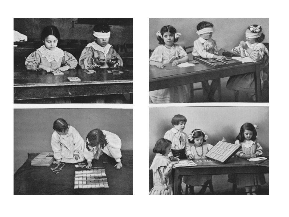 PEDAGOGIKA MARIE MONTESSORI Nový způsob výchovy a vzdělávání vyvolal úžas a nadšení, na exkurze přijížděli z celého světa lidé různých názorů, náboženství i společenského postavení.