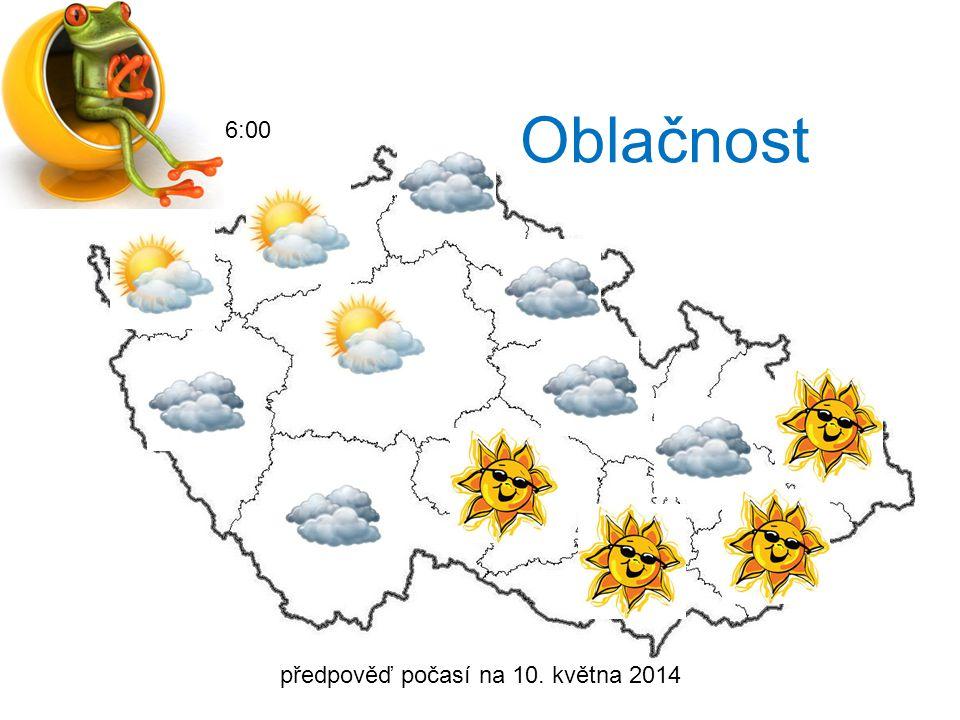 projekt PŘEDPOVĚĎ POČASÍ Vypracovala Eva Kubečková, 10. května 2014, třída: 8.B