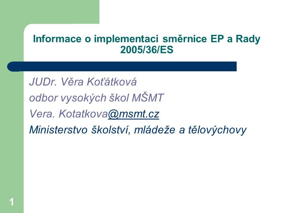 2 Obsah 1.Obsah navrhované změny zákona č. 18/2004 Sb., 2.