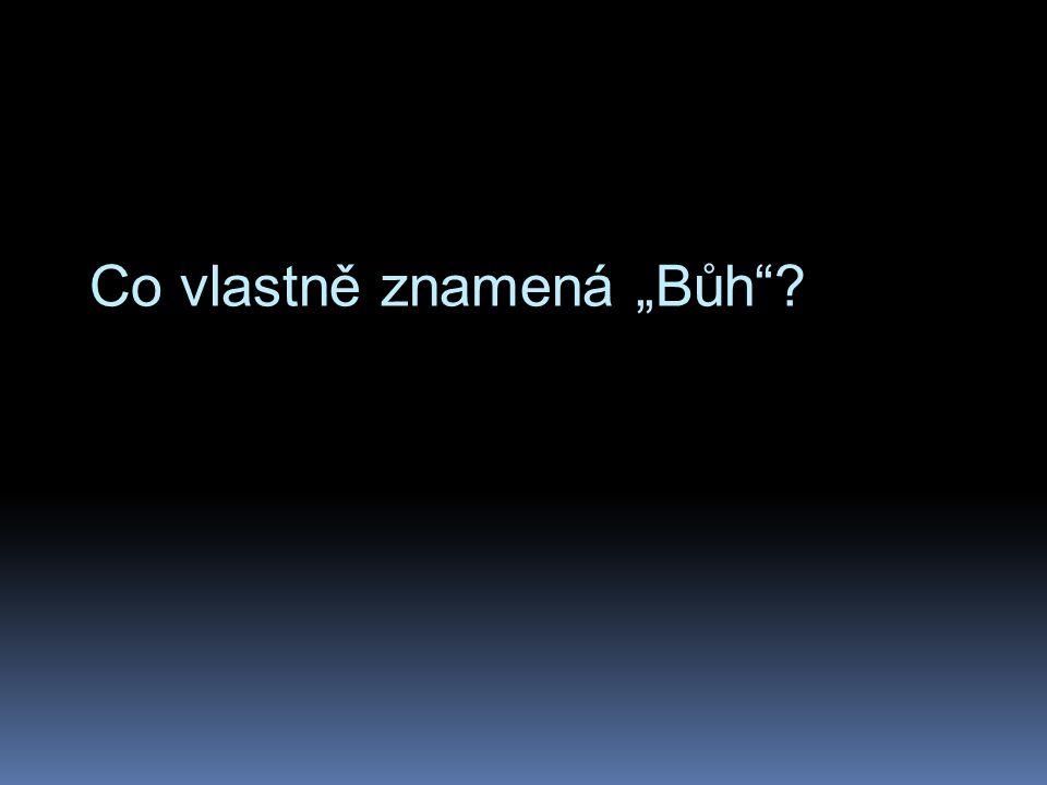 """""""Vajomer Elohim  každý tvor je """"Božím slovem"""