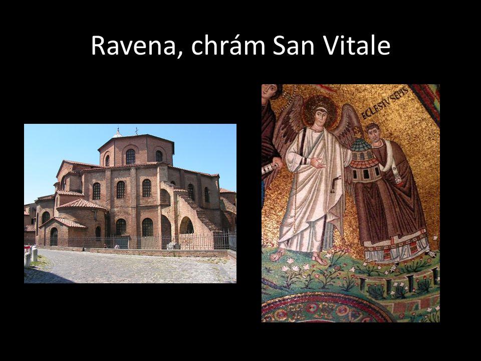 Ravena, chrám San Vitale
