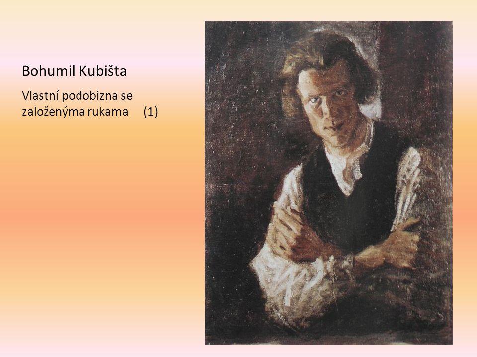 Vlastní podobizna se založenýma rukama (1) Bohumil Kubišta