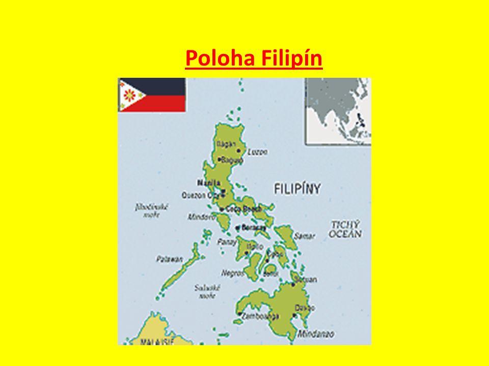 Poloha Filipín