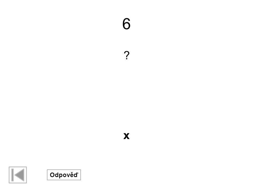 17 ? Odpověď x