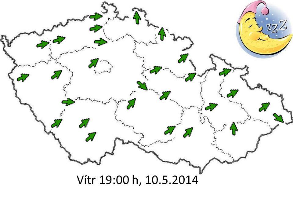 Vítr 19:00 h, 10.5.2014