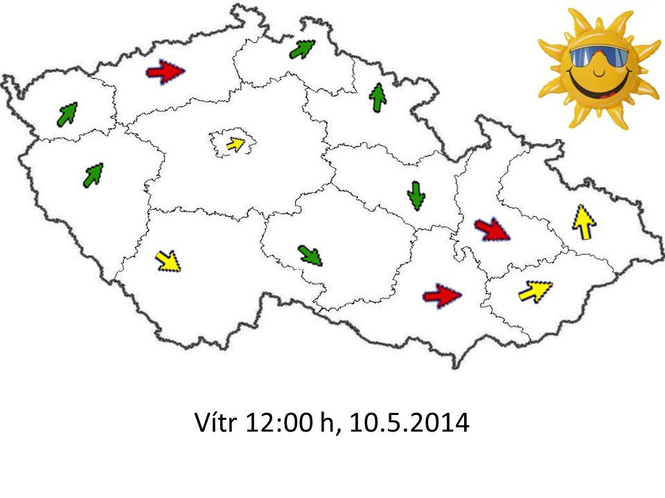 Vítr 12:00 h, 10.5.2014