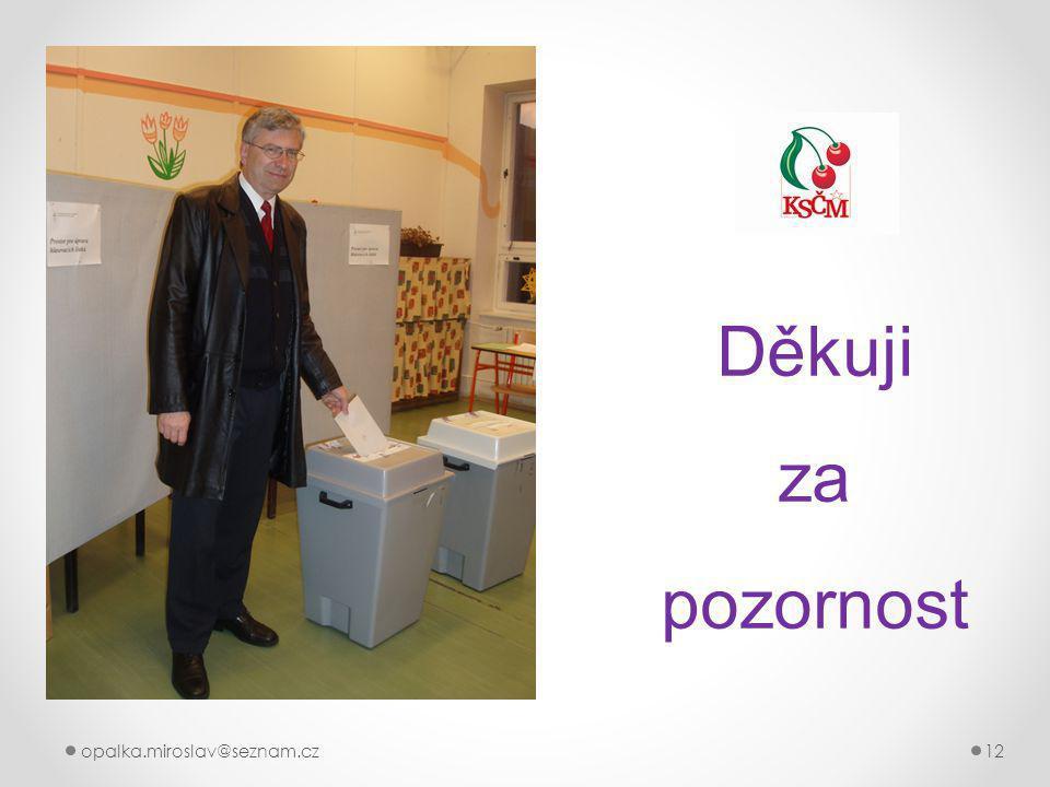 opalka.miroslav@seznam.cz12 Děkuji za pozornost