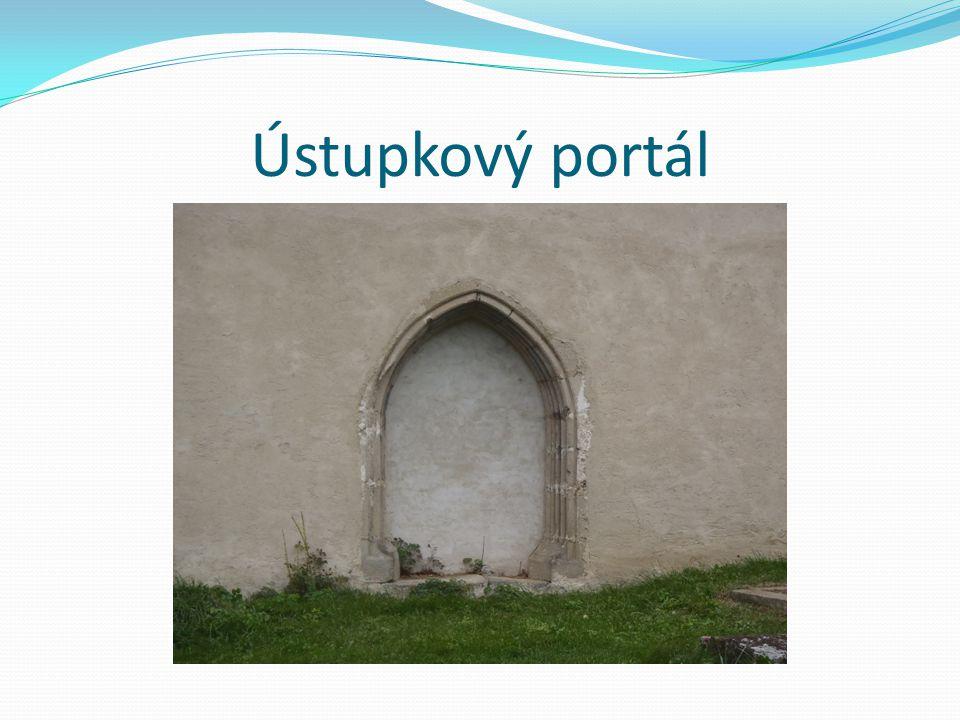 Ústupkový portál