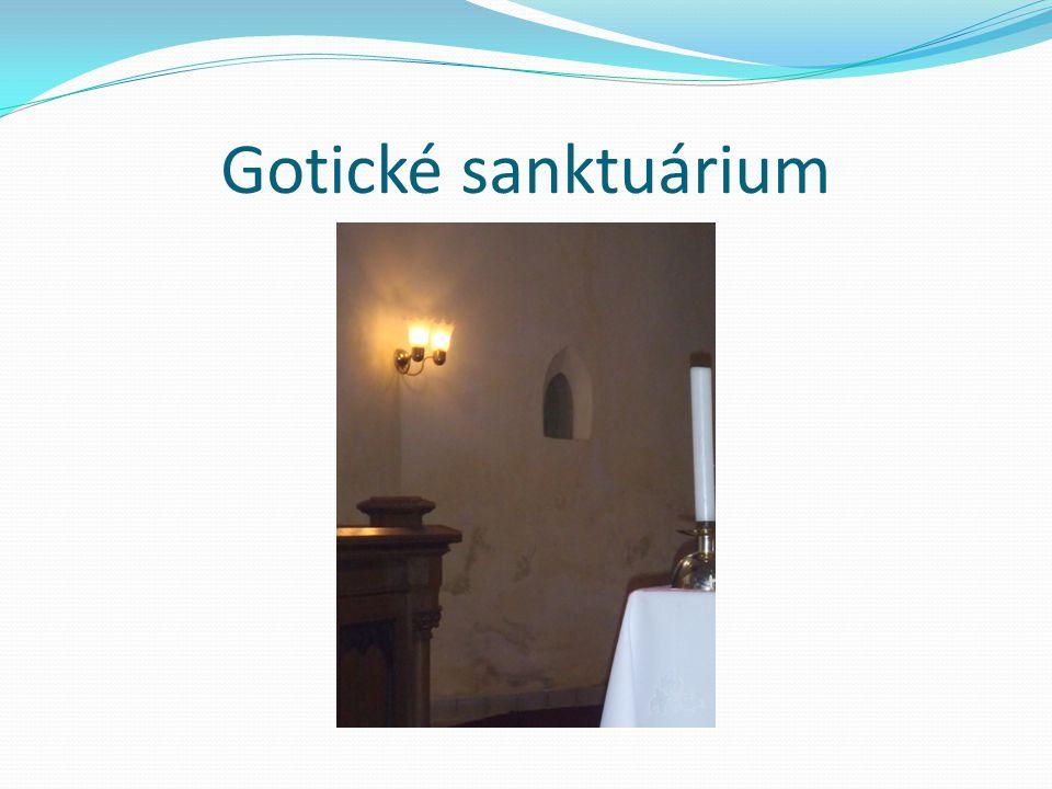 Gotické sanktuárium