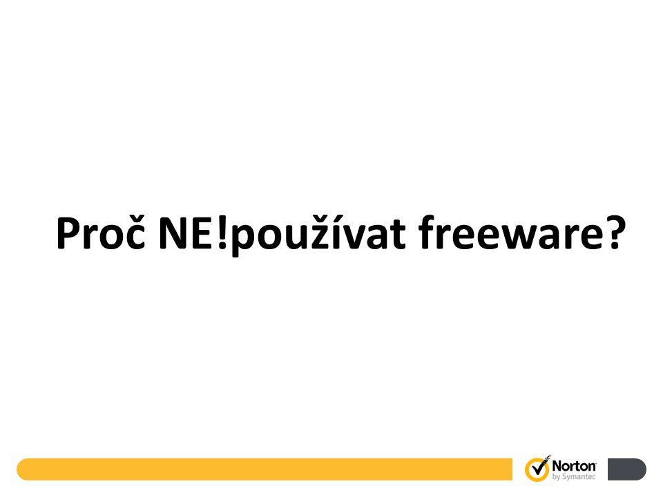 26 Proč NE!používat freeware