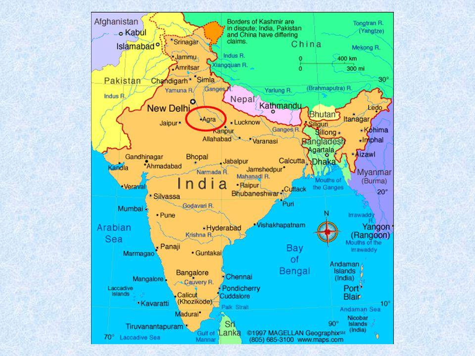 Táj Mahal je monumentální pomník v Ágře ve státě Uttarpradéš v Indii.