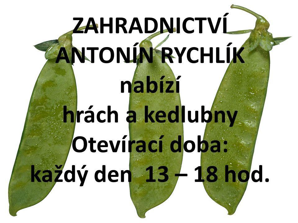 Zemědělský podnik Dolní Dunajovice bude v sobotu 27.3.2010 v 9:30 hod.
