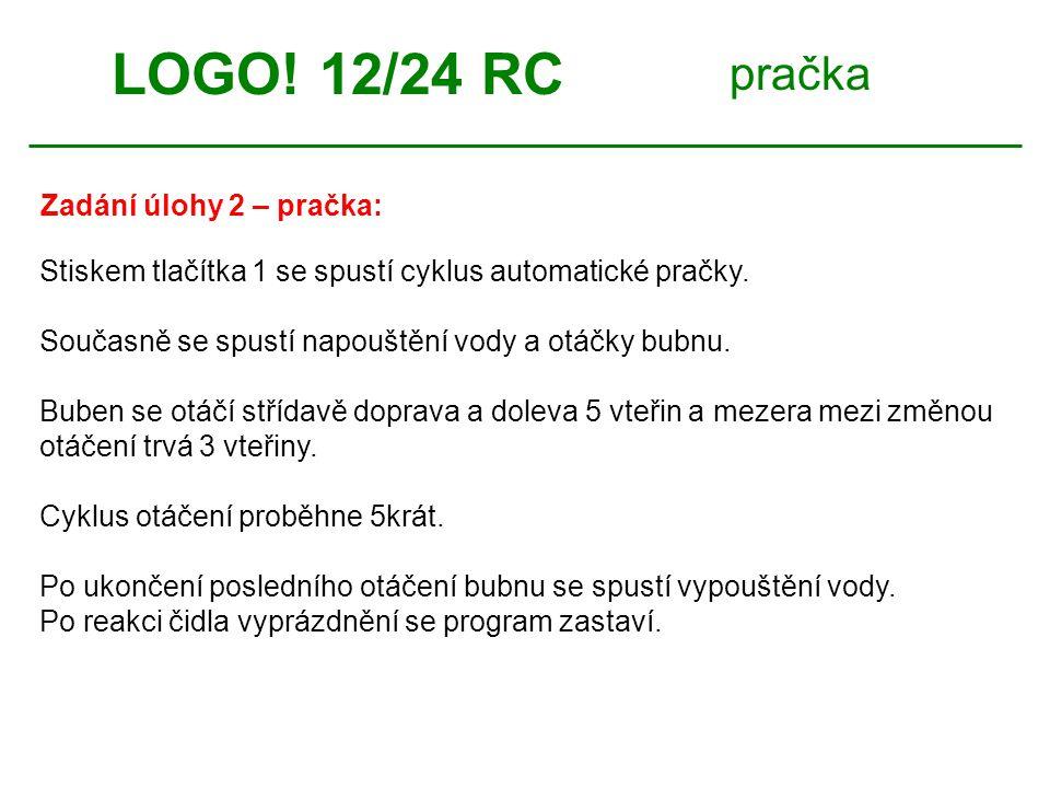 pračka LOGO! 12/24 RC