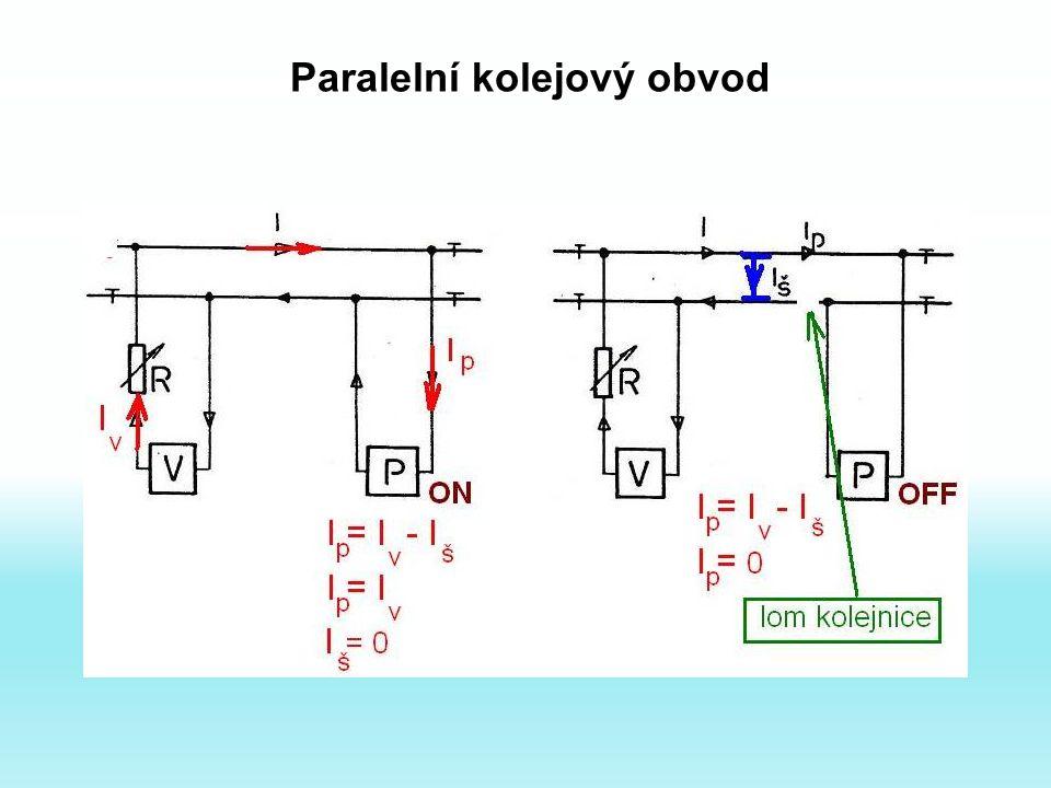 Paralelní kolejový obvod