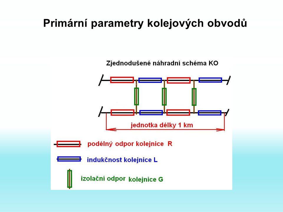 Primární parametry kolejových obvodů