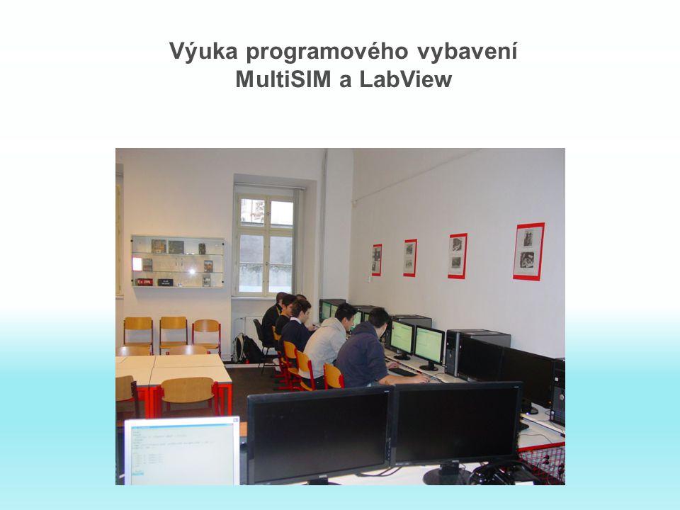 Výuka programového vybavení MultiSIM a LabView