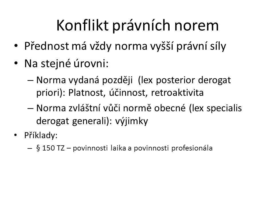 Zákony 20/1966 Sb.o péči o zdraví lidu 48/1997 Sb.