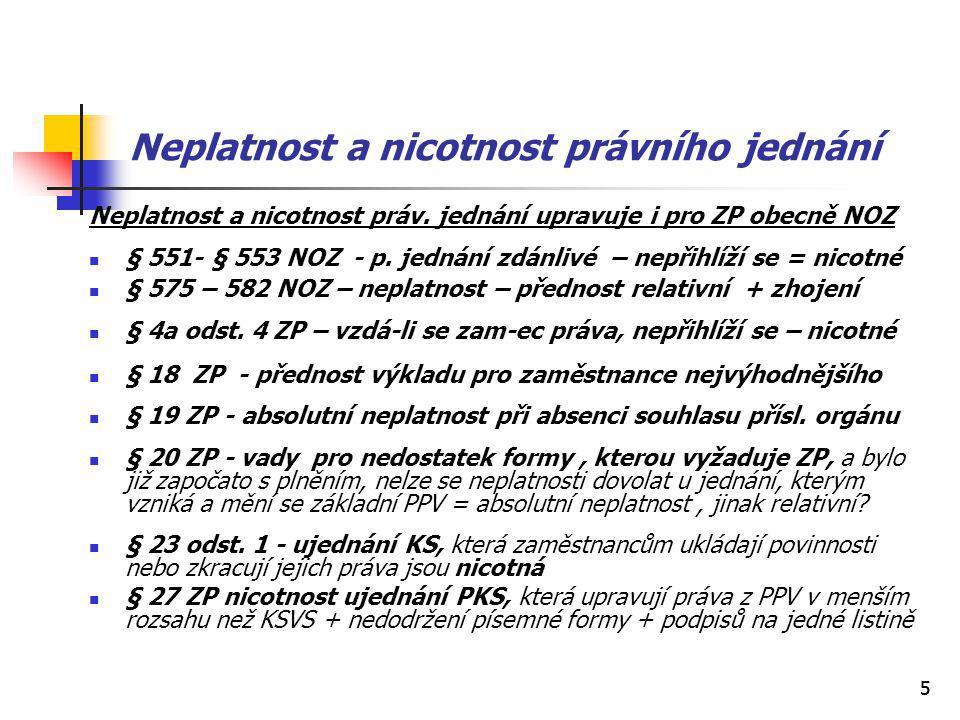 55 Neplatnost a nicotnost právního jednání Neplatnost a nicotnost práv.