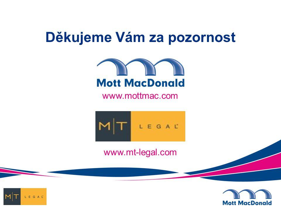 www.mottmac.com Děkujeme Vám za pozornost www.mt-legal.com