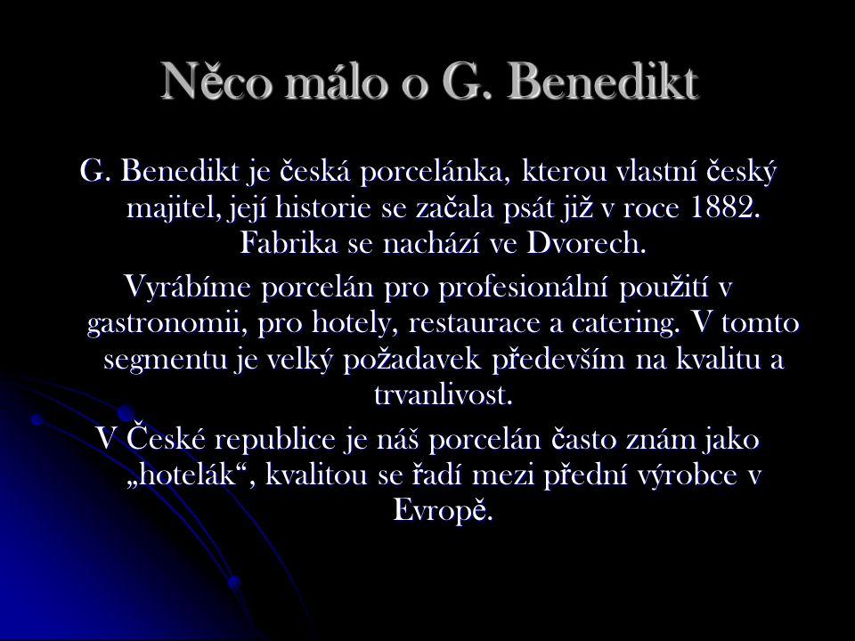 N ě co málo o G. Benedikt G.