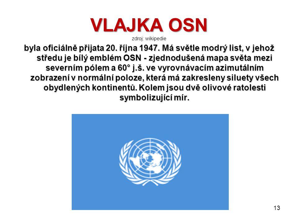 BUDOVA OSN V NEW YORKU BUDOVA OSN V NEW YORKU zdroj: wikipedie 12