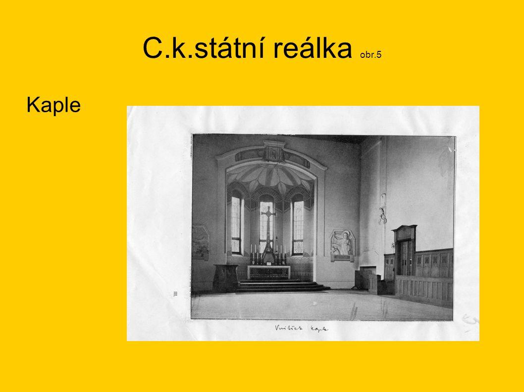 C.k.státní reálka obr.5 Kaple