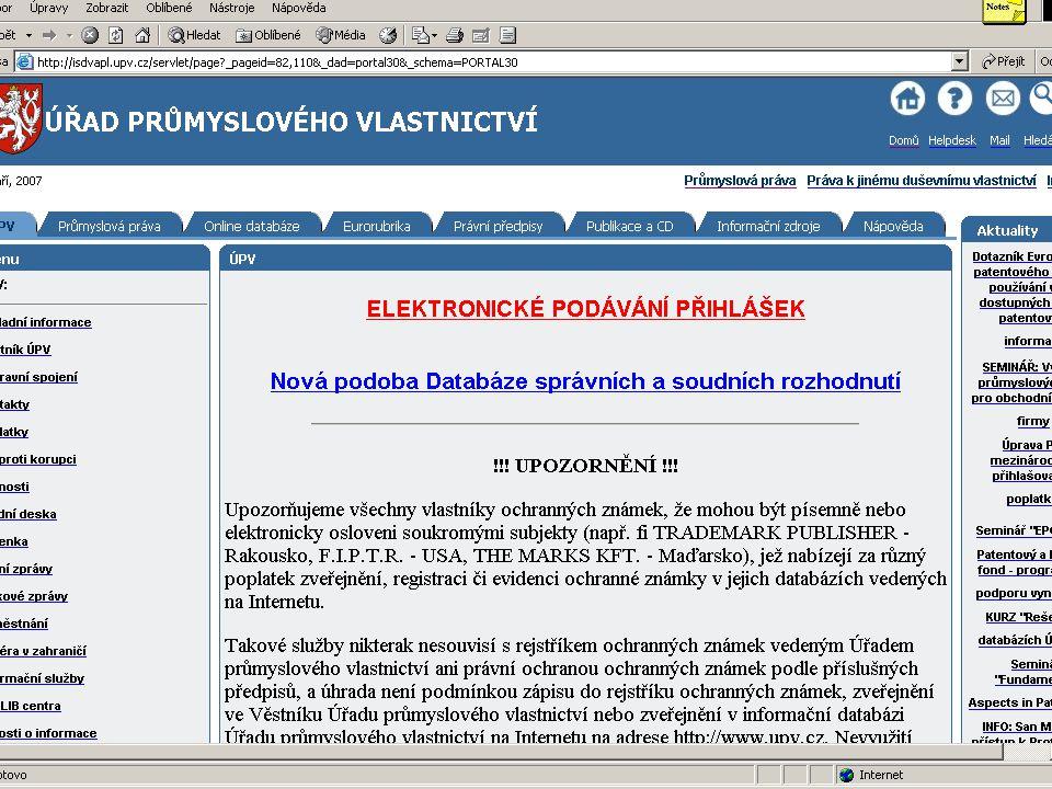 od 27. září 2007Svaz chemického průmyslu ČR17
