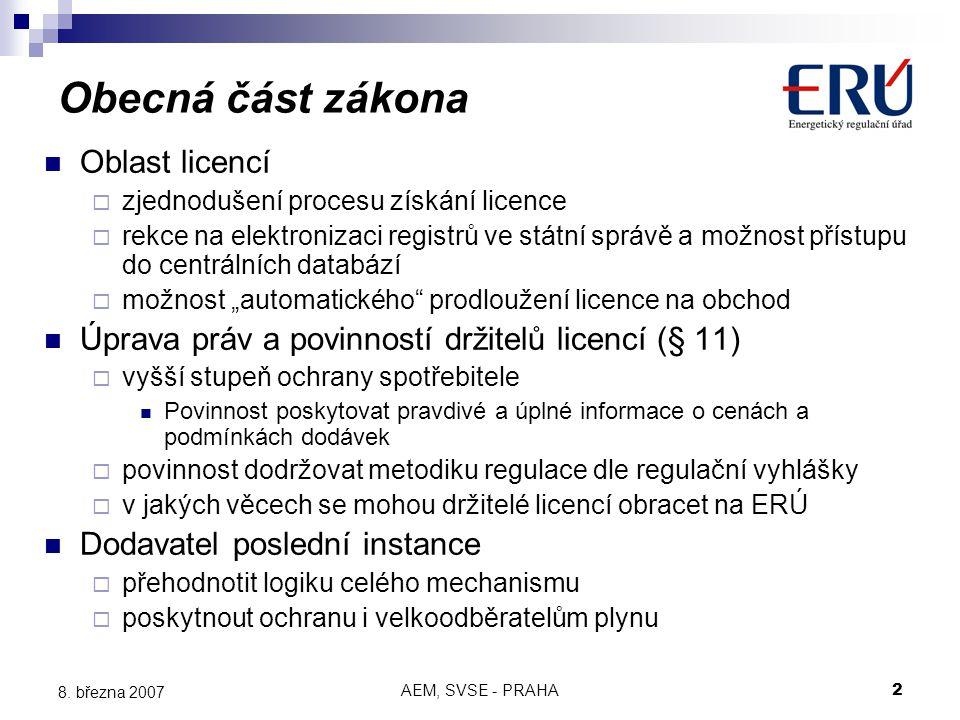 AEM, SVSE - PRAHA2 8.