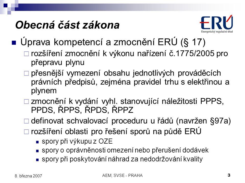 AEM, SVSE - PRAHA3 8.