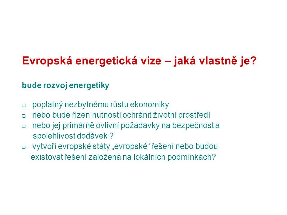 Evropská energetická vize – jaká vlastně je.