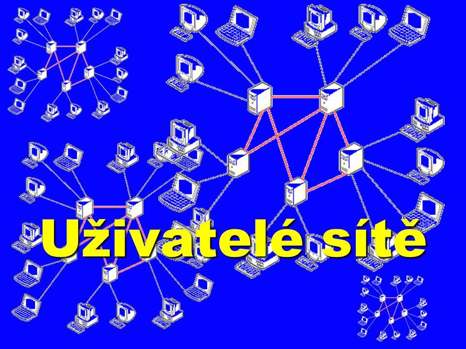 Uživatelé sítě