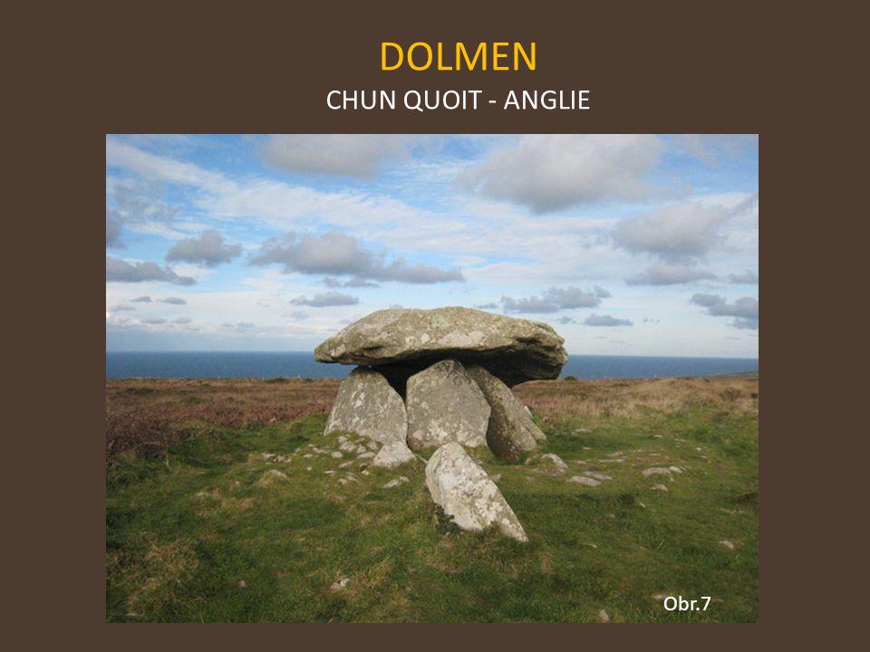 DOLMEN CHUN QUOIT - ANGLIE Obr.7