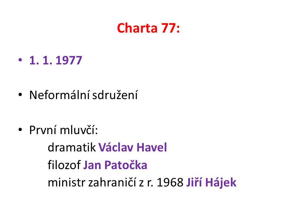 Charta 77: 1. 1.