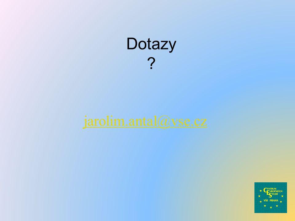 Dotazy jarolim.antal@vse.cz
