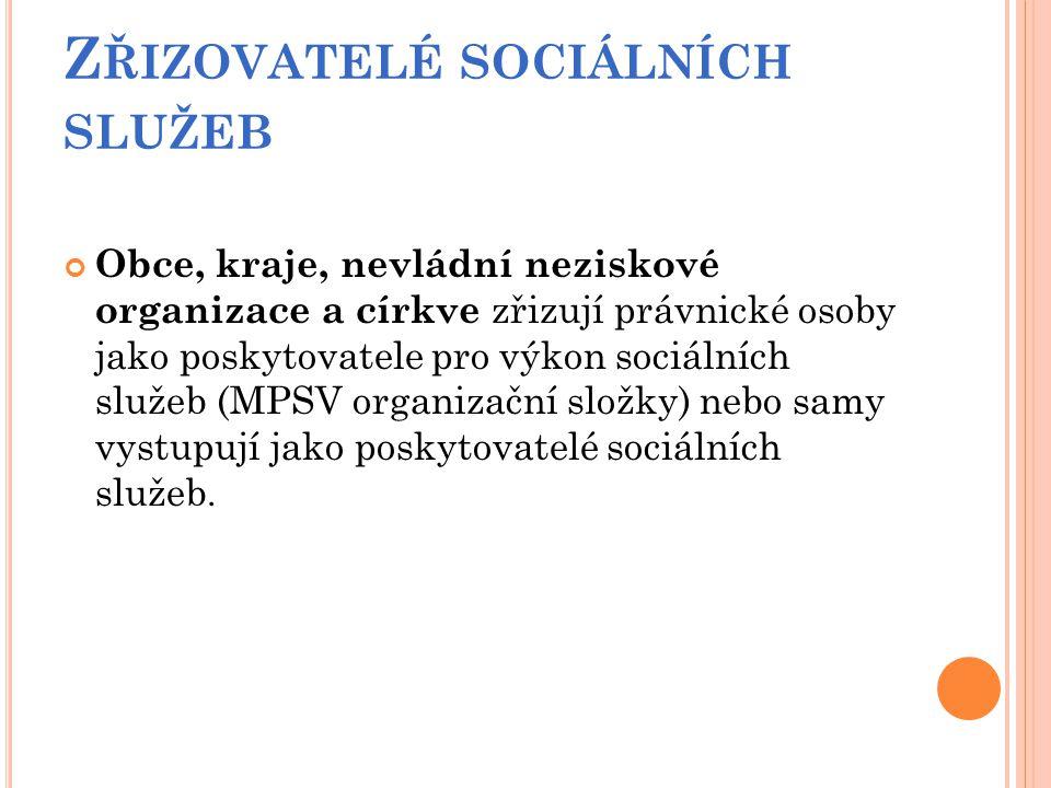 U ŽIVATELÉ SOCIÁLNÍCH SLUŽEB Uživateli veřejných (sociálních) služeb jsou v obecné rovině občané, kteří vytvářejí různé sociální skupiny.