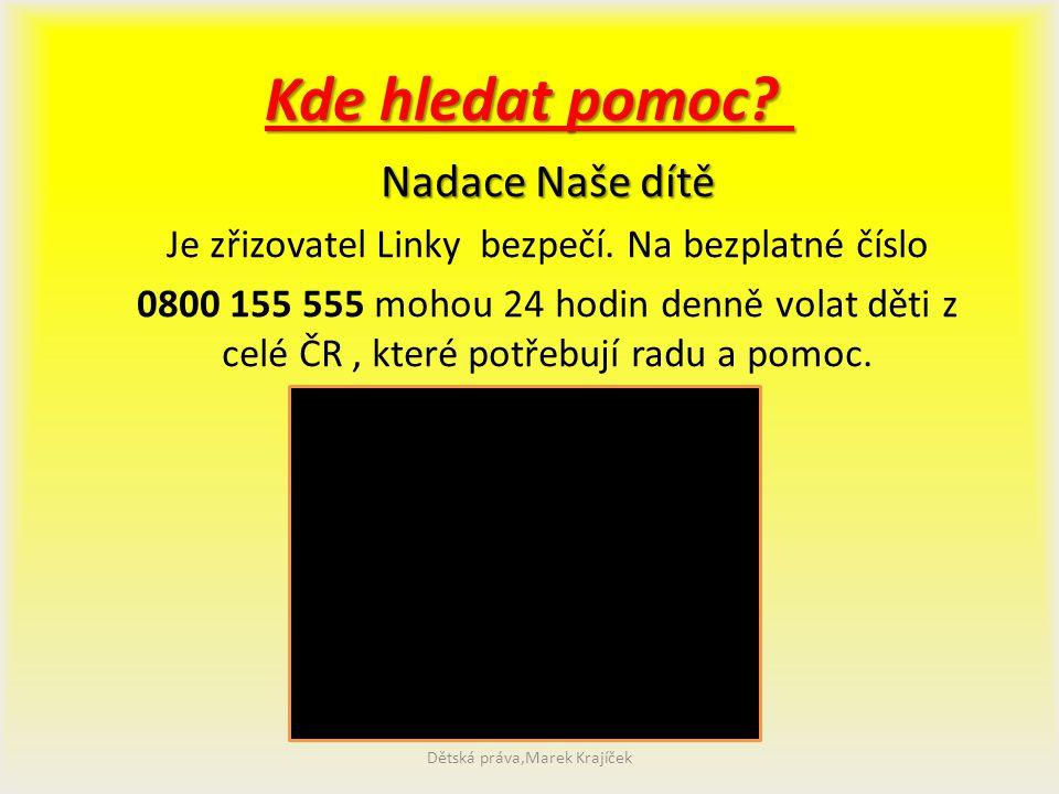 Důležité upozornění! V České republice existuje ve vztahu k trestnému činu týrání svěřené osoby oznamovací povinnost. Každý, kdo ví o jakémkoli případ