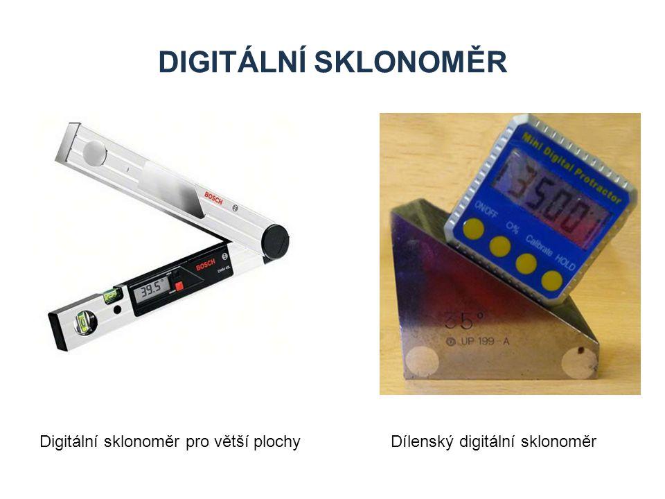 DIGITÁLNÍ SKLONOMĚR Digitální sklonoměr pro větší plochyDílenský digitální sklonoměr