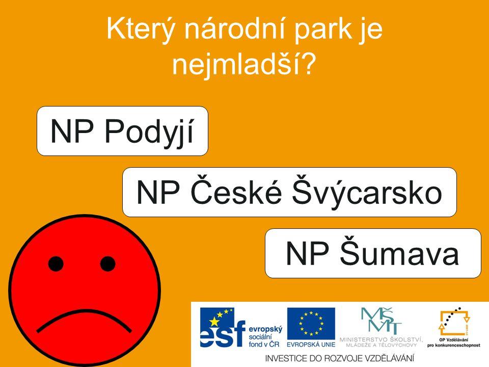 Který národní park je největší? KRNAP NP Šumava