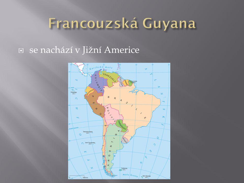  se nachází v Jižní Americe