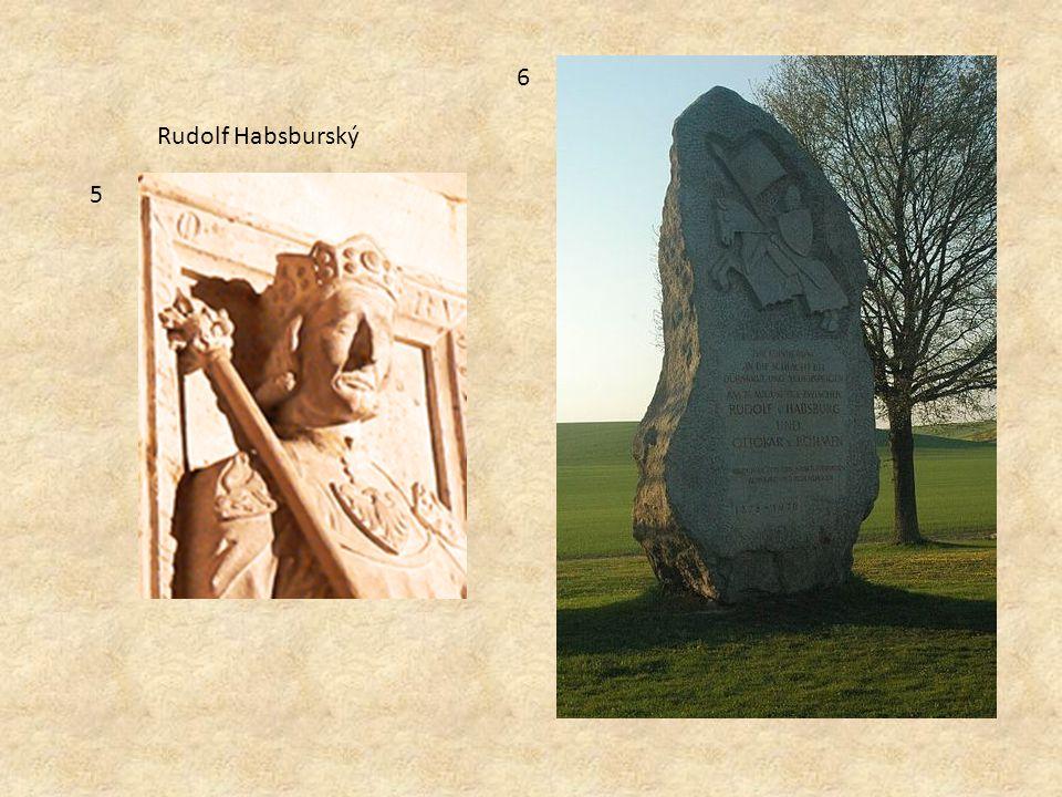5 6 Rudolf Habsburský