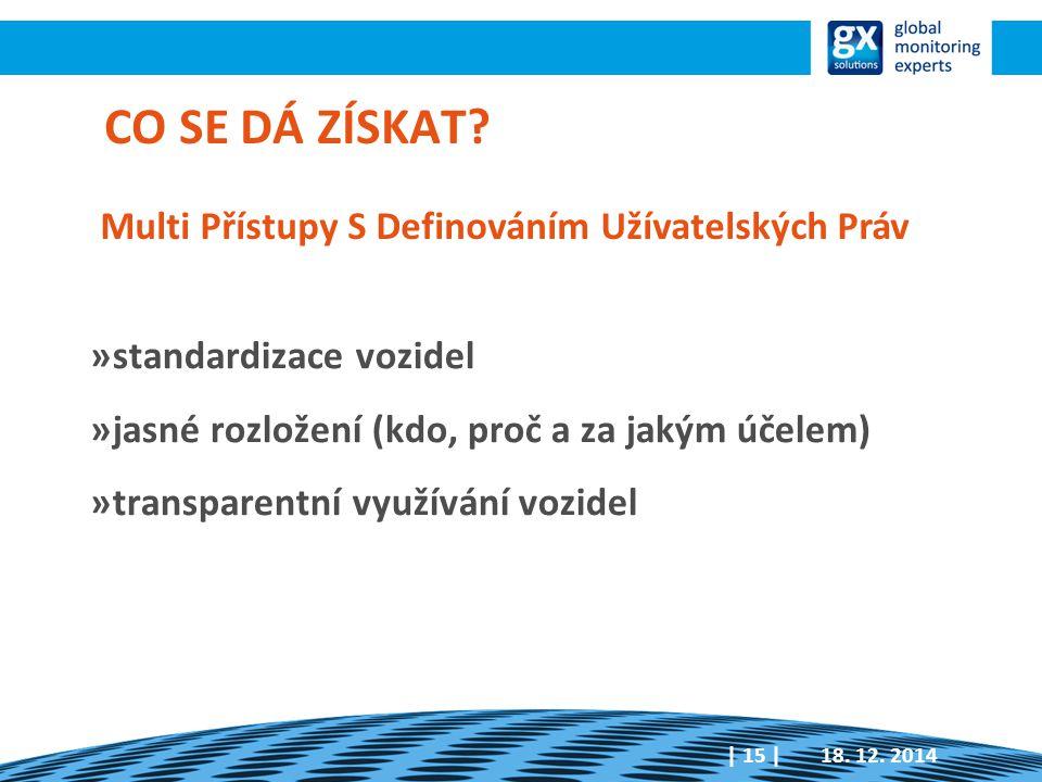 »standardizace vozidel »jasné rozložení (kdo, proč a za jakým účelem) »transparentní využívání vozidel 18.