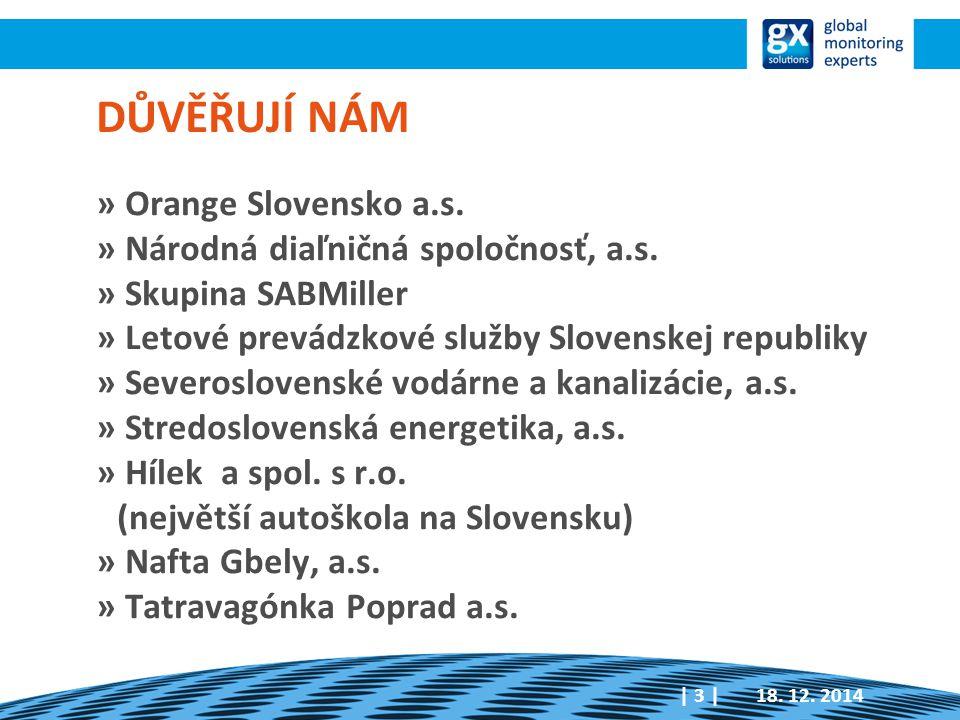 DŮVĚŘUJÍ NÁM » Orange Slovensko a.s. » Národná diaľničná spoločnosť, a.s.