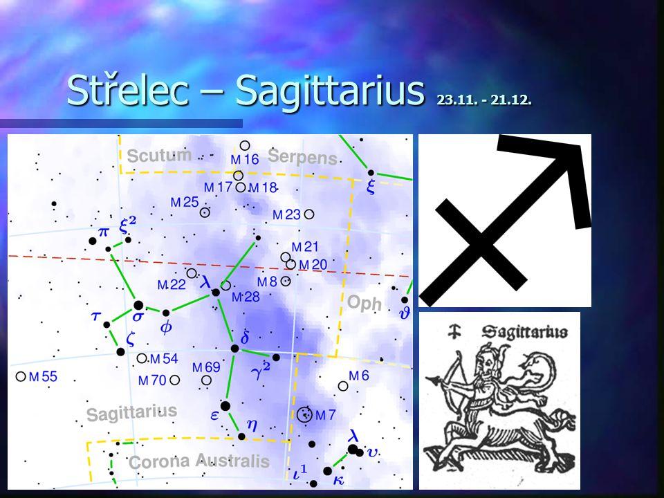 Štír – Scorpio 24.10. - 22.11.