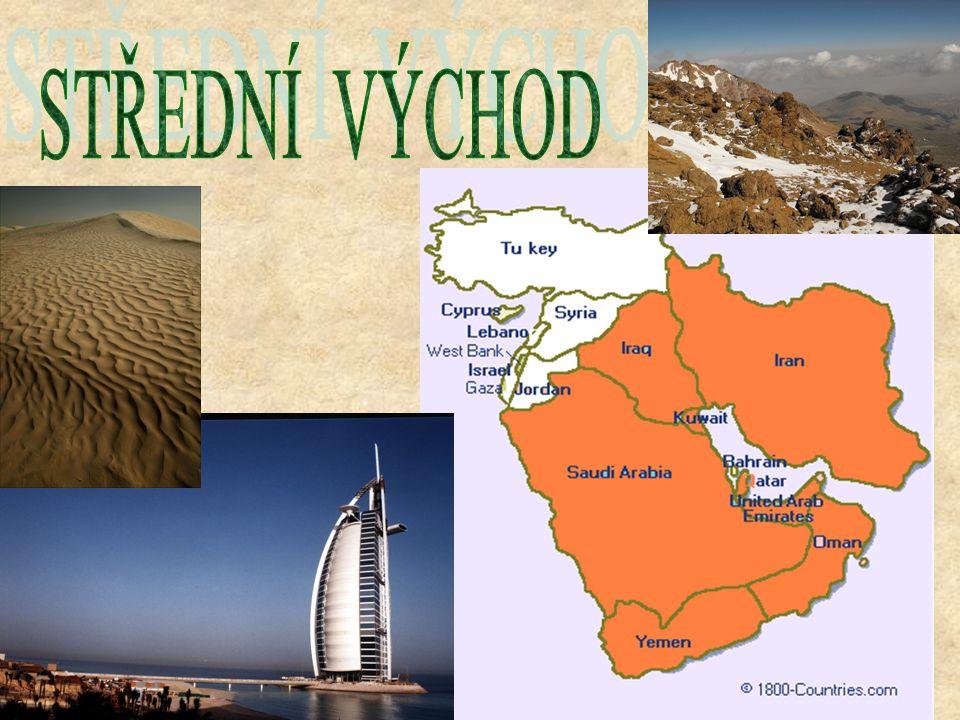 Na Středním východě se rozkládaly velké a významné říše jako Mezopotámie, Babylonie (území dnešního Iráku) nebo Persie (dnešní Írán).