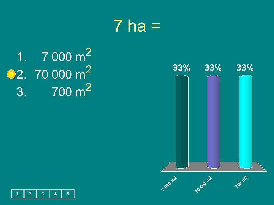 2 dm 2 8 cm 2 = 1. 2 008 cm 2 2. 280 cm 2 3. 208 cm 2 12345