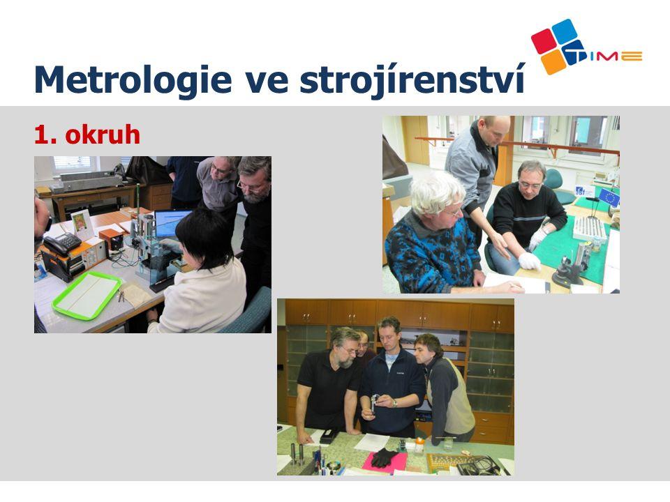 1. okruh Název prezentace Metrologie ve strojírenství