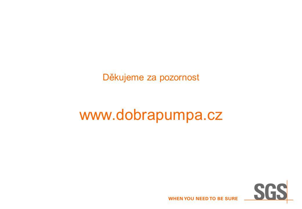 Děkujeme za pozornost www.dobrapumpa.cz
