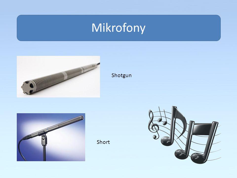 Obsah Mikrofony Shotgun Short
