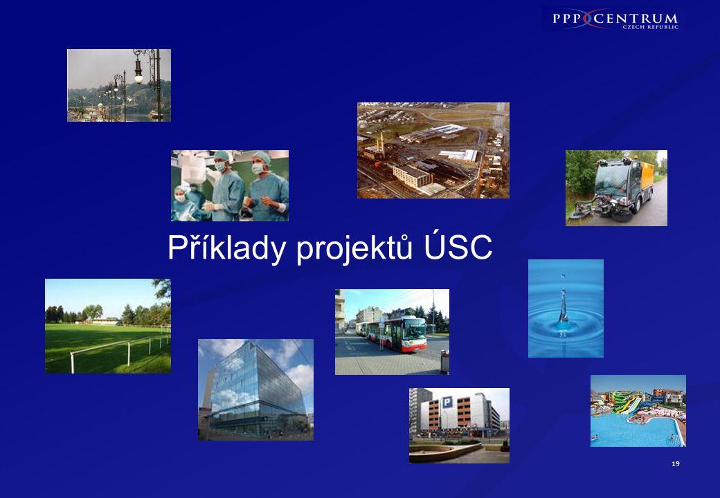 19 Příklady projektů ÚSC